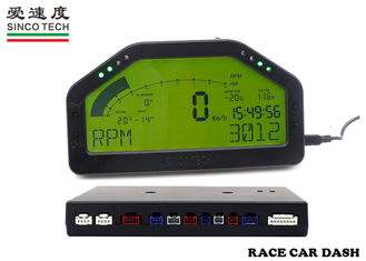 12v Race Car Dashboard Multifunctional / Sensors Type For Universal Cars